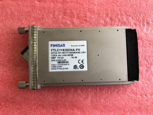 Finisar Ftlc1183sdna Cfp Out4 4i1-9d1f/100gbase-lr4,10km-13xx Nm-smf Ont