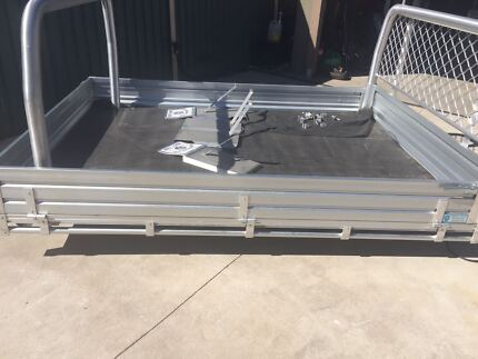 alloy ute tray and ladder rack