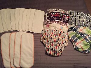 12 Sunbaby Diapers with inserts