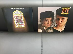 The Alan Parsons project MINTY 33LP vinyl albums. (2) $20.
