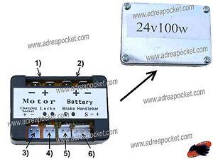 Controleur de tension 24 volts 100 watts trottinette for Controleur de tension electrique