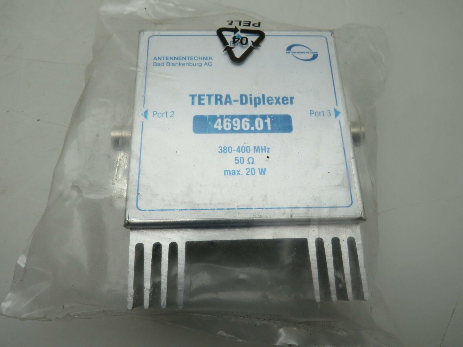 Tetra Diplexer Antennenweiche BOS Funk 4696.01 3xFME Anschluss 380-400Mhz