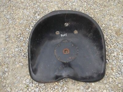 Massey Harris Pony Tractor Mh Nice Original Metal Seat Pan