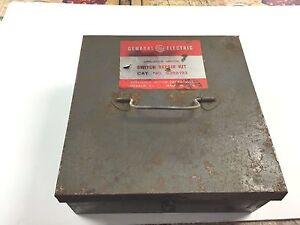 Vintage ge general electric switch repair kit electric for Antique electric motor repair