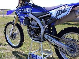 2014 Yamaha YZ450F with GET Traction Control Elwood Port Phillip Preview