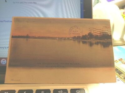 """EASTON MD """" ANCHORAGE MILES RIVER  Posted 1907 POSTCARD for sale  Shipping to Canada"""