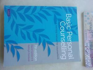 Basic Personal Counselling 7th ed - Great condition! Highgate Hill Brisbane South West Preview