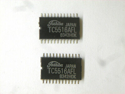 Tc5516afl Original Toshiba 24p Smd Ic 2 Pcs