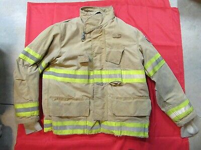 Mfg. 2010 Fire-dex 46 X 32 Turnout Gear Firefighter Bunker Jacket Rescue Fire