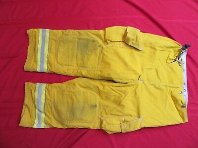 Globe 38 X 26 Firefighter Turnout Bunker Fire Pants Gear Halloween Costume