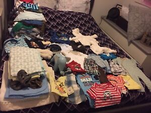 HUGE lot of baby boy clothes!!