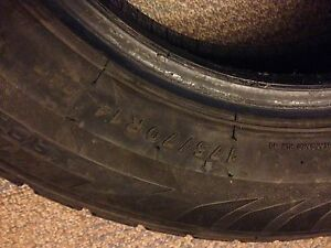 2x 174 R14 winter tires 20$ for both Gatineau Ottawa / Gatineau Area image 1