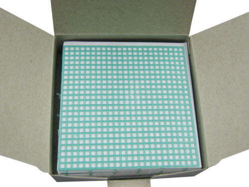 Dental Lab Retention Mesh Thick Square Grid Partial Denture 0.81mm US Shipping