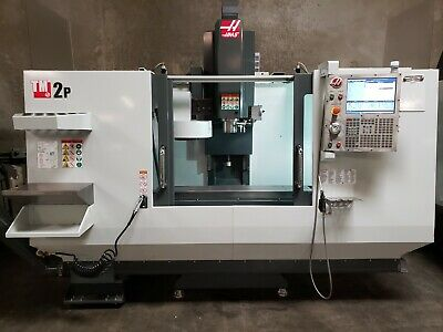 Haas Tm-2p Mfg 2017 Under 300 Hours Pcool Auger Rigid Tap Powered Up