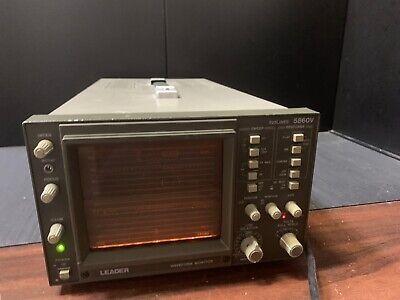 As Is Leader 5860v 525 Lines Waveform Monitor