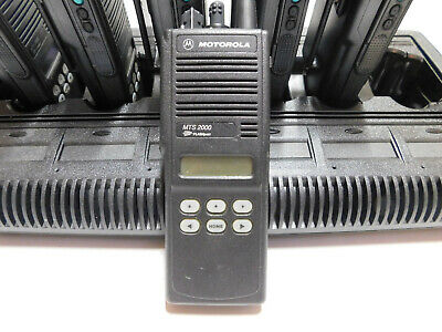Motorola Mts2000 160 Channel 136-174mhz Model 2 2.5khz Portable Radio Pd Fd