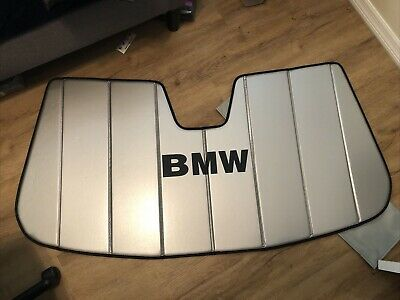 BMW OEM FACTORY SUNSHADE for 2005 - 2014 X5, E70 Used w/cover 82110417983