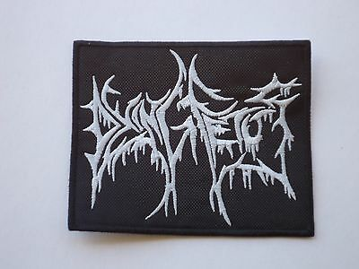 Dying Fetus Logo Brutal Death Metal Embroidered Patch