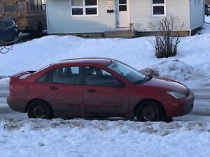 2002 Ford Focus 700$ 1 wk old snow tires