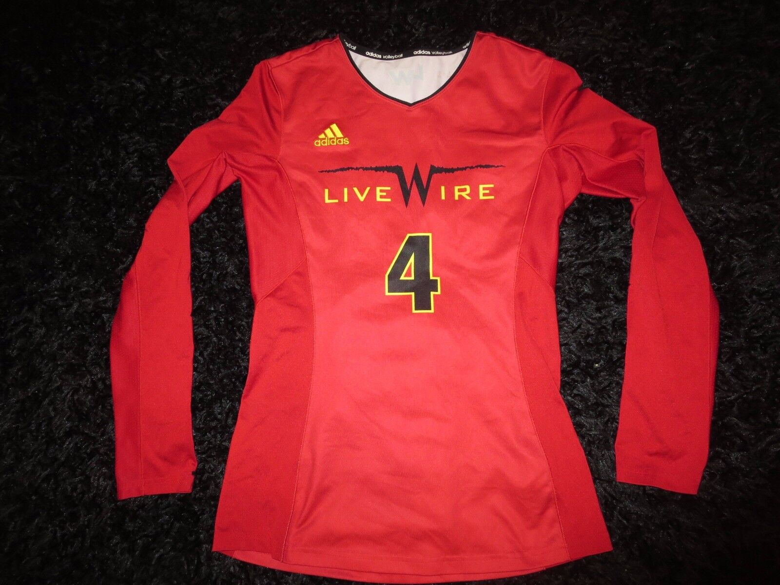 Livewire Arizona Scottsdale Volleyball Club Rot Adidas Trikot Sm S KLEIN Damen