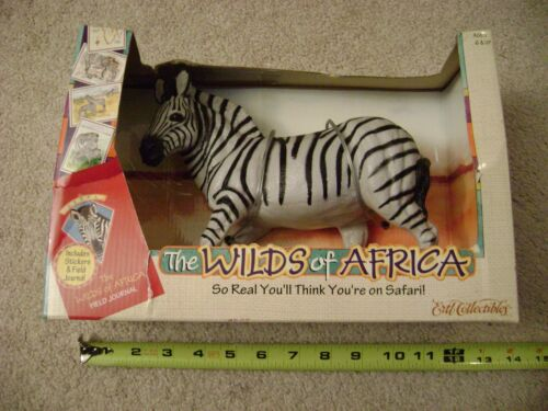 "The Wilds of Africa ""Zebra"" animal figure 1997 Ertl / New in box Rare!"