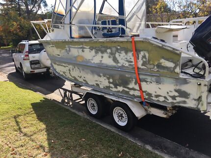 Boat trailer catamaran