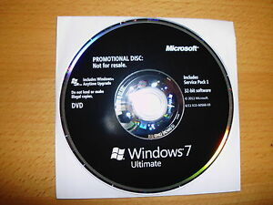 Windows 7 Ultimate SP1 32 Bits