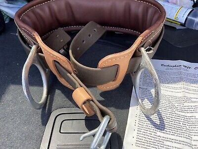 New Buckingham 2d Ring Lineman Belt Lineman Climbing Gear