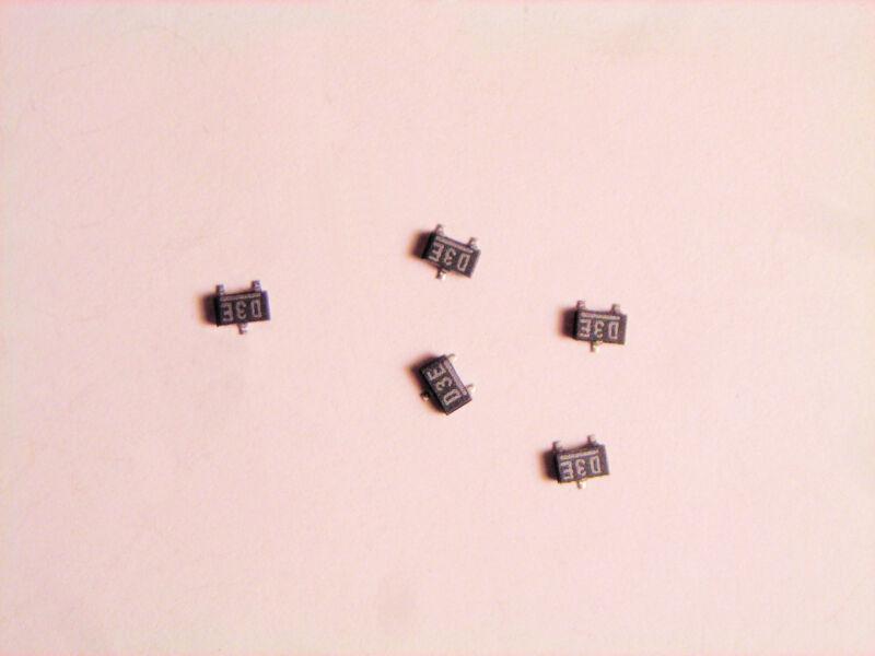 RB411  ROHM 20 V 500 mA Schottky Barrier Diode  SMD 5  pcs