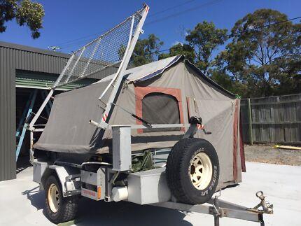Koala offroad camper trailer with boat rack Maudsland Gold Coast West Preview