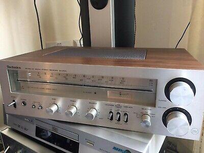 vintage Technics SA-200L Amplifier Receiver FM AM HiFi  Component Retro 70's