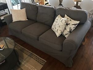 Ektorp 3 Seat Couch in Grey - great condition!