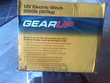 NEW 12V GEARUP BOAT WINCH - NEVER USED Charlestown Lake Macquarie Area Preview