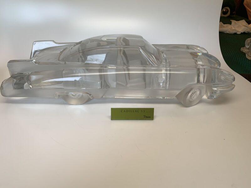Daum France Cadillac Crystal