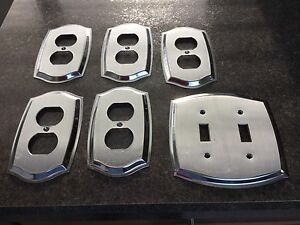 Decorative electrical wall plates