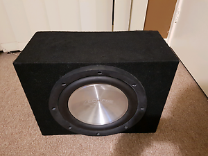 """12"""" Eclipse Subwoofer in box Doveton Casey Area Preview"""