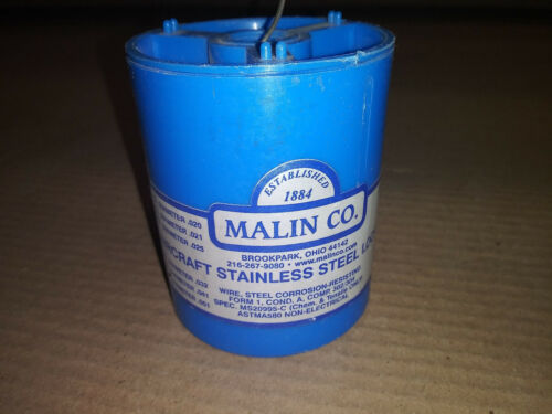 New Malin Aircraft Stainless Steel Lockwire .051 Diameter