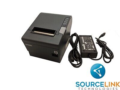 Epson Tm-t88v Thermal Printer Serial Usb Interface Ps-180 Power Supply