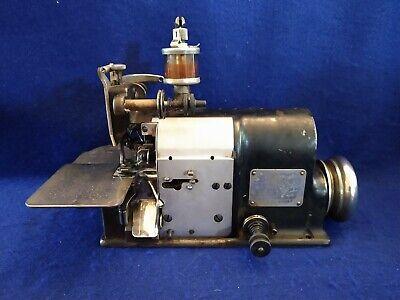 Vintage Merrow Sewing Machine Head Style 60 Abwy See Photos Description