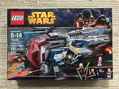 LEGO 75046 Star Wars Coruscant Police Gunship - Ashoka Anakin - New and Sealed