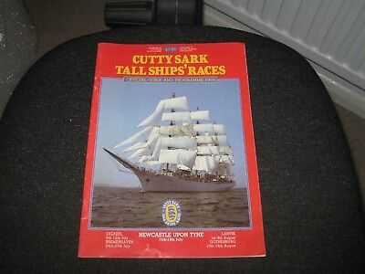 OFFICIAL PROGRAMME for CUTTY SARK TALL SHIPS RACES 1986