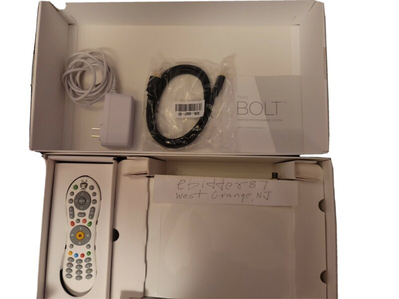 TiVo BOLT 500 GB 4K with All-In Lifetime Service, Cable or OTA Antenna