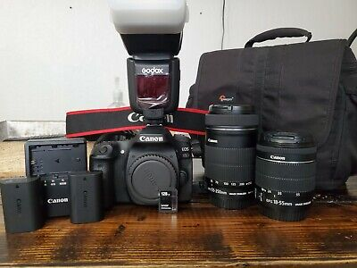 Canon EOS 80D 24.2MP Digital SLR Camera Kit with EF-S 18-55mm f/3.5-5.6 IS...