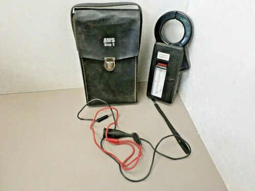 A.W. Sperry Instruments Snap 9 Vintage Volt OHM Ammeter SPR-930 With Case