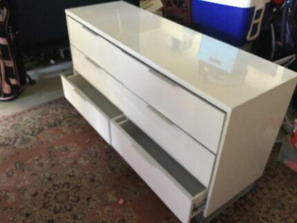 Large 6 drawer bedroom cabinet VGC