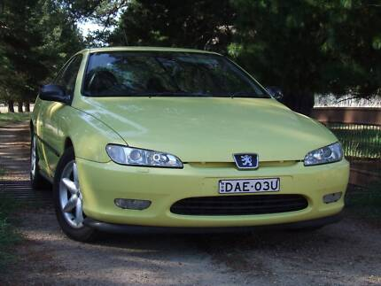 1998 Peugeot 406 Coupe Invergowrie Uralla Area Preview