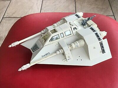 Star Wars Vintage Snowspeeder Complete & Working PALITOY 1980 w/ harpoon Lovely