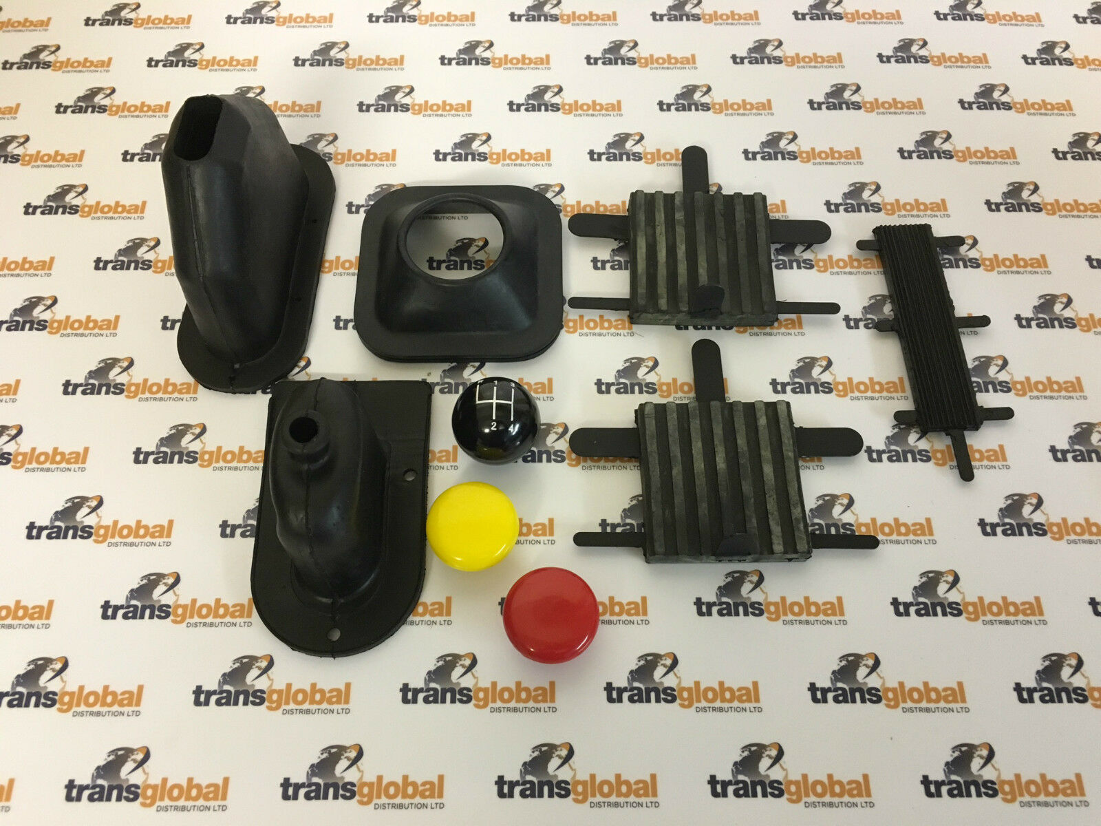 GEAR KNOBS /& GAITERS LAND ROVER SERIES 3 INTERIOR REFURB KIT PEDAL RUBBERS