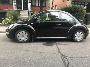 New beetle 2000 MANUAL  (winter wheels  included )