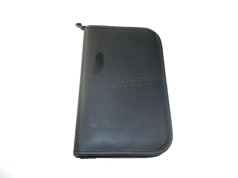 Staples Texas Instruments Calculator Storage Travel Case - Black